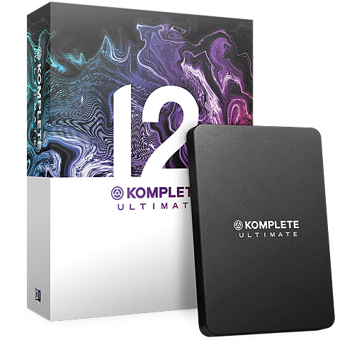 Synthétiseurs virtuels Native Instruments Komplete 12 Ultimate