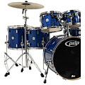 Set di batterie pdp Concept Maple CM6 Blue Sparkle
