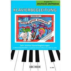 Ricordi Meine lustige Blockflöte Bd.1 Klavierbegleitung dt « Leerboek