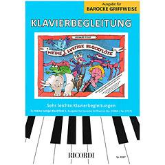 Ricordi Meine lustige Blockflöte Bd.1 Klavierbegleitung ba « Leerboek
