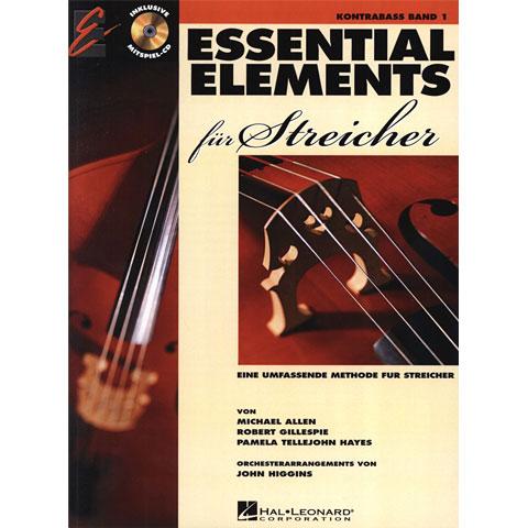 Lehrbuch De Haske Essential Elements für Streicher - für Kontrabass