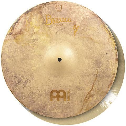 "Cymbale Hi-Hat Meinl Byzance Vintage 16"" Benny Greb Sand Hihat"