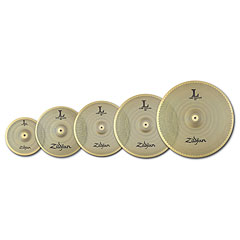 Zildjian L80 Low Volume 468 Full Pack 10/14/16/18/20 « Cymbal-Set