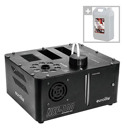 Nebelmaschine Eurolite NSF-100 LED DMX Hybrid Set inkl Fluid