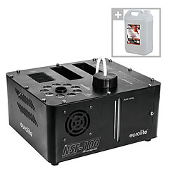 Eurolite NSF-100 LED DMX Hybrid Set inkl Fluid « Machine à brouillard
