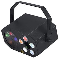 Eurolite LED Mini FE-5 Laser Goboflower « Jeu de lumière