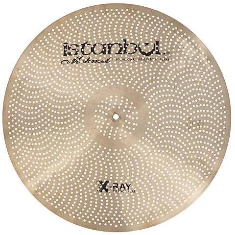 "Cymbale Ride Istanbul Mehmet X-Ray 20"" Silence Flat Ride"