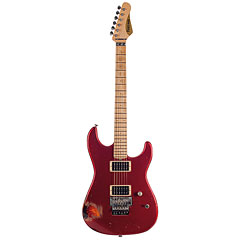 Friedman Cali, HH, Candy Red over 2Tone Sunburst « Guitarra eléctrica