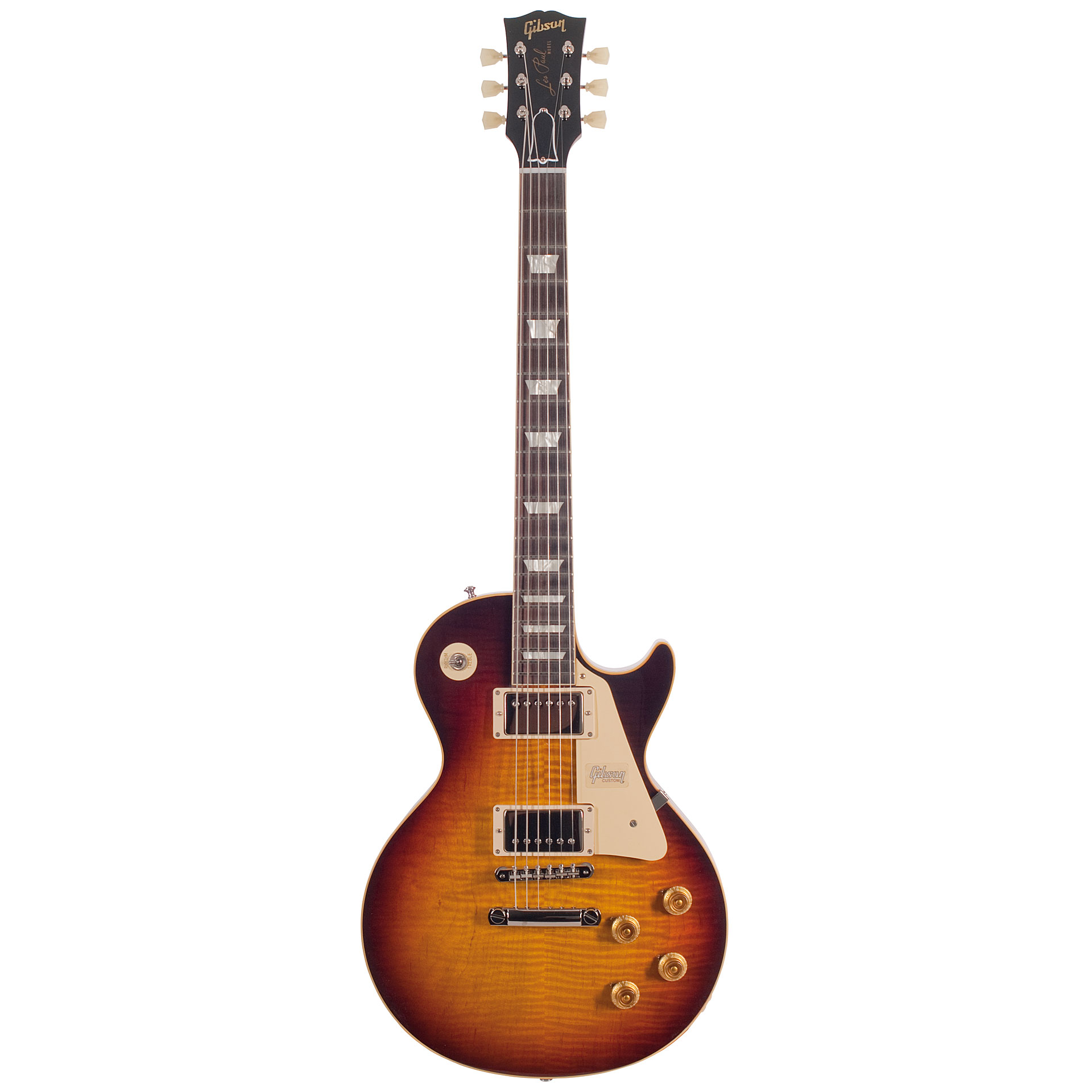 Gibson 1959 Les Paul Standard Reissue Vos Faded Electric Guitar
