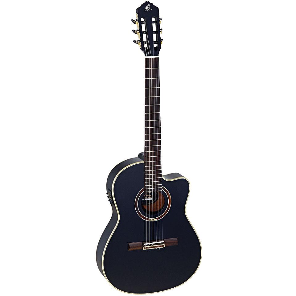 Konzertgitarren - Ortega RCE138 T4BK B Stock Konzertgitarre - Onlineshop Musik Produktiv