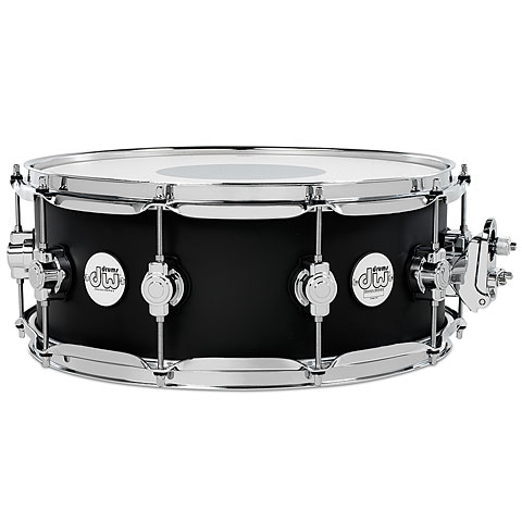 "Snare Drum DW Design 14"" x 5,5"" Black Satin Snare Drum"