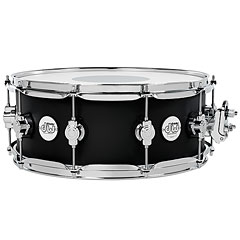 "DW Design 14"" x 5,5"" Black Satin Snare Drum « Caisse claire"
