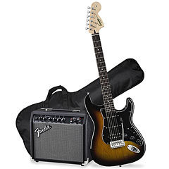 Squier Affinity Strat Pack HSS BSB « E-Guitar Set
