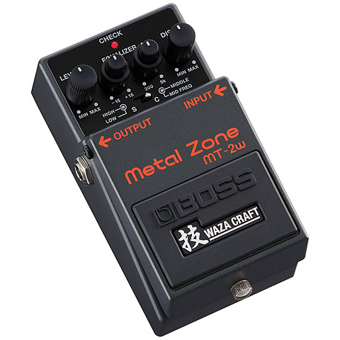 Pedal guitarra eléctrica Boss MT-2 W MetalZ Waza Craft