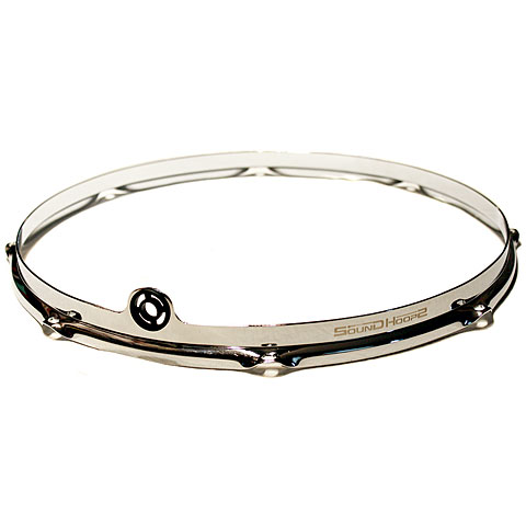 "Anillos ajuste SoundHoops Pro 16"" Chrome Tom / Floortom Hoop 8 Holes"