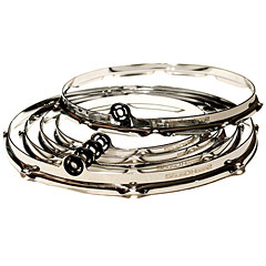 SoundHoops Pro Chrome Pro 5 Hoop Set « Drum Keys
