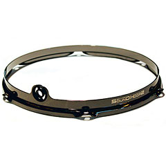 "SoundHoops Pro 12"" Black Nickel Tom Hoop 6 Holes « Anillos ajuste"
