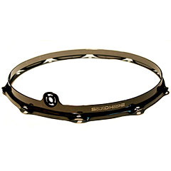 "SoundHoops Pro 14""  Black Nickel Snare Batter Side Hoop 10 Hol « Anillos ajuste"