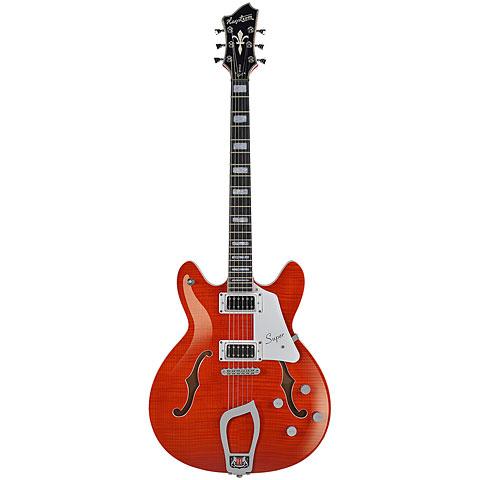 Hagstrom Super Viking Mandarin Flame « Guitare électrique
