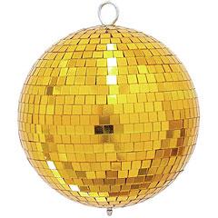 Eurolite Mirrorball 20 cm gold « Boule disco