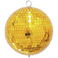 Discokugel Eurolite Mirrorball 20 cm gold