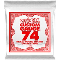 Ernie Ball Wound Slinky .074, 3 Stück « Saiten E-Gitarre