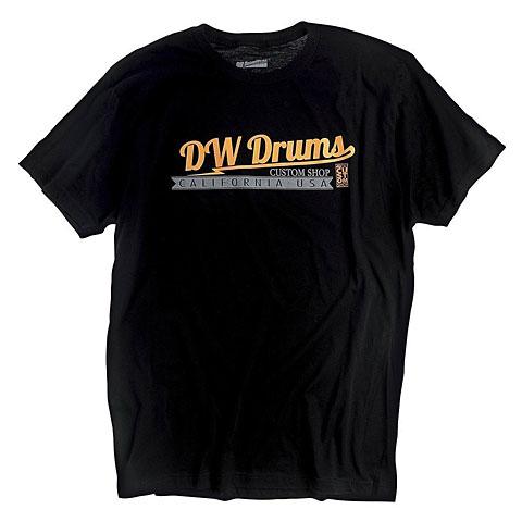 Camiseta manga corta DW Custom Shop Logo T-Shirt Size L
