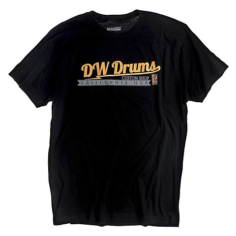 T-Shirt DW Custom Shop Logo T-Shirt Size XL