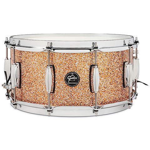 "Gretsch Drums Renown Maple 14"" x 6,5"" Copper Premium Sparkle Snare Drum"
