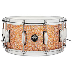 "Gretsch Drums Renown Maple 14"" x 6,5"" Copper Premium Sparkle Snare Drum « Caisse claire"