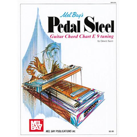 Libros didácticos MelBay Pedal Steel Guitar Chord Chart