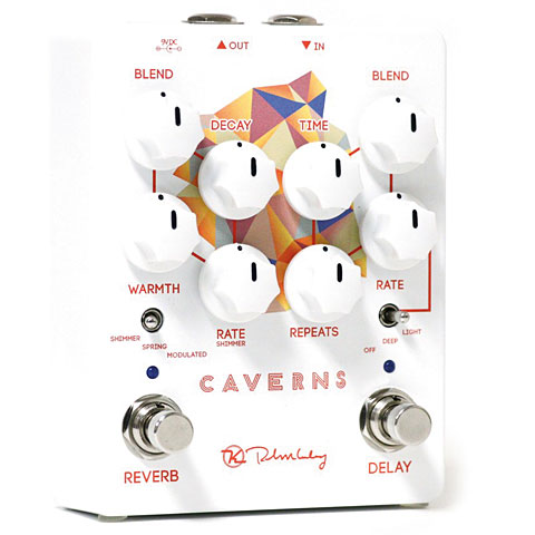Pedal guitarra eléctrica Keeley Caverns Delay Reverb V2