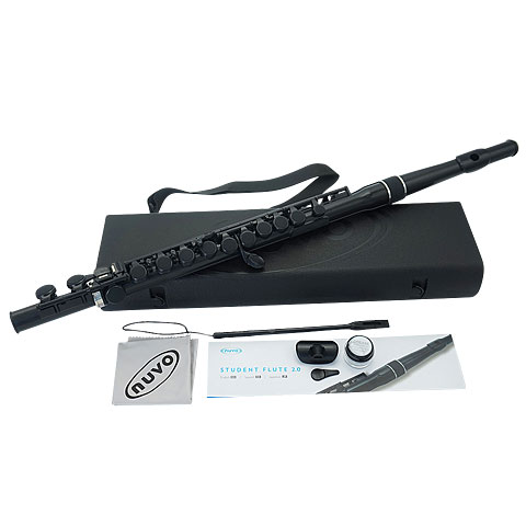 Flûte traversière Nuvo Student Flute 2.0 Black