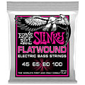 Saiten E-Bass Ernie Ball Super Slinky Flatwound 2814 045-100