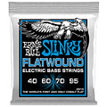Corde basse électrique Ernie Ball Extra Slinky Flatwound 2815 040-095