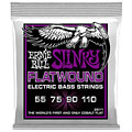 Cuerdas bajo eléctrico Ernie Ball Power Slinky Flatwound 2811 055-110