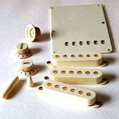 GuitarSlinger Accessory Kit aged white « Kit de accesorios