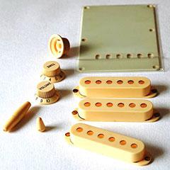 GuitarSlinger Accessory Kit Aged Ivory « Kit de accesorios