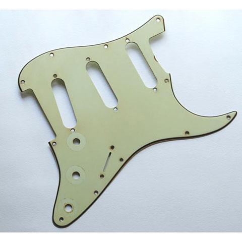 GuitarSlinger Pickguard 62 SC Mint Green Aged Premium