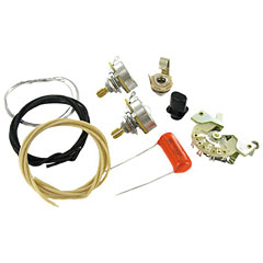 GuitarSlinger Premium Telecaster 3 Way Wiring Kit « Pick-up électronique