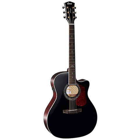 Guitare acoustique Cort Gold A8 BKG