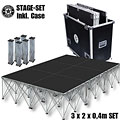 Intellistage SET 3x2m 40 cm TuffCoat  «  Stage Platform