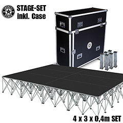 Intellistage SET 4 x 3 x 0,4 m Tuffcoat « Stage Platform