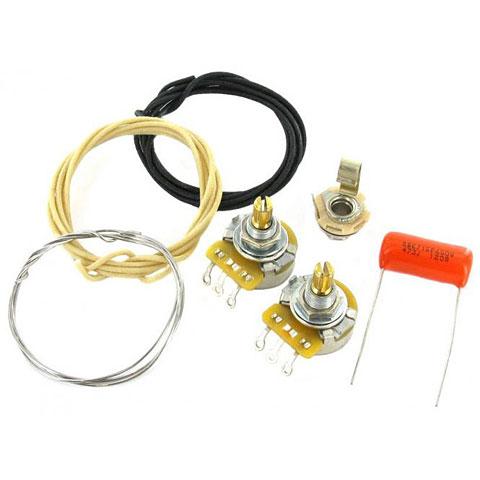 Electrónica pastilla GuitarSlinger Precision Bass Wiring Kit