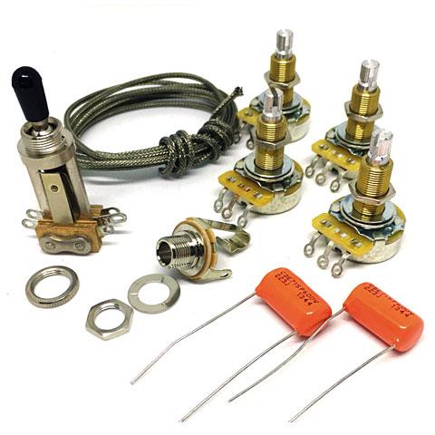 Surprising Guitarslinger Les Paul Wiring Kit Pu Elektronik Wiring Digital Resources Minagakbiperorg