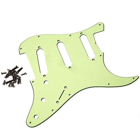 Pickguard GuitarSlinger Pickguard 62 SC 3 Ply, Mint Green