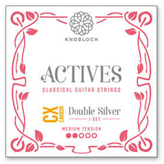 Knobloch Strings 500ADC Double Silver CX Carbon « Classical Guitar Strings