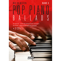 Hage Pop Piano Ballads 4 « Recueil de Partitions
