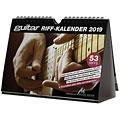 Calendario PPVMedien Guitar Riffkalender 2019