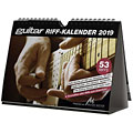 PPVMedien Guitar Riffkalender 2019  «  Calendario
